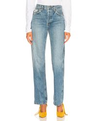 RE/DONE - Originals High Rise Loose - Lyst
