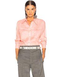 Isabel Marant - Naria Shirt - Lyst