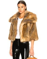 Nili Lotan - Garbo Faux Fur Coat - Lyst