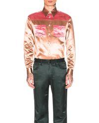 CALVIN KLEIN 205W39NYC - Diner Uniform Shirt - Lyst
