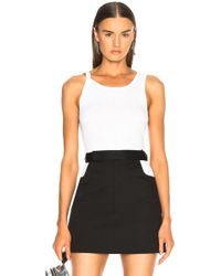 Helmut Lang - Chewed Up Tank Top - Lyst