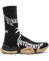 bf42ab33694c Vetements - X Reebok Classic Sock Sneakers - Lyst