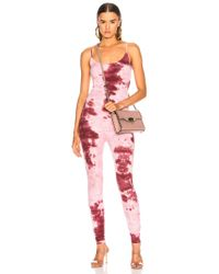 Enza Costa - For Fwrd Rib Fitted Strappy Jumpsuit - Lyst
