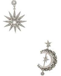 Oscar de la Renta - Moon & Stars Earrings - Lyst