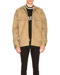 Fear Of God - Selvedge Chino Workshirt - Lyst