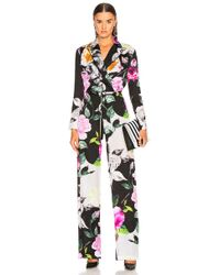 Off-White c/o Virgil Abloh - Floral Coulisse Jumpsuit - Lyst