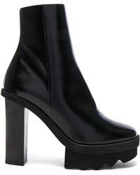 Stella McCartney - Platform Ankle Boots - Lyst