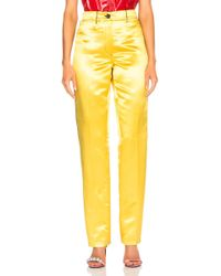 CALVIN KLEIN 205W39NYC - High Waisted Trousers - Lyst
