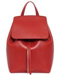Mansur Gavriel - Saffiano Mini Backpack - Lyst