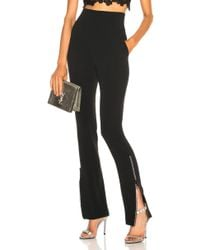 David Koma - Crystal Zip High Waisted Pant - Lyst