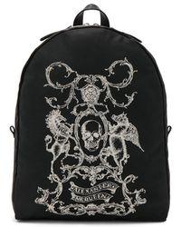 Alexander McQueen - Printed Backpack - Lyst