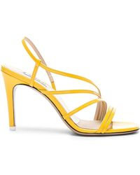 Attico - Patent Leather Baby Sandals - Lyst