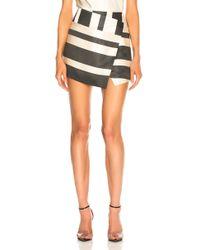 Michelle Mason - Mini Skirt - Lyst