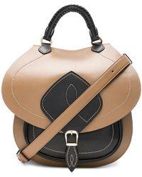 Maison Margiela - Bicolor Leather Backpack - Lyst