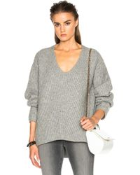 Acne Studios - Deborah Wool Sweater - Lyst