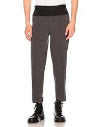 Kolor   Contrast Waistband Trousers   Lyst