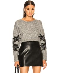 Marissa Webb - Freda Cropped Sweater - Lyst
