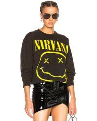 MadeWorn - Nirvana Sweatshirt - Lyst