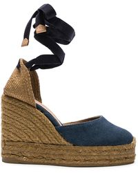 Castaner - Canvas Carina Wedge Espadrilles - Lyst