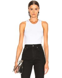 Helmut Lang - Stacked Logo Tank Top - Lyst