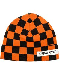 Off-White c/o Virgil Abloh   Big Checker Beanie   Lyst