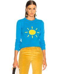 Alberta Ferretti - Sunshine Crewneck Jumper - Lyst