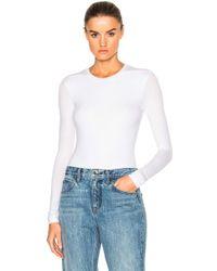 ATM | Long Sleeve Bodysuit | Lyst