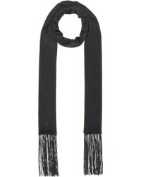 Alexander Wang | Embroidered Fringe Scarf | Lyst