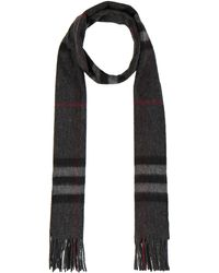 Burberry Prorsum - Giant Check Cashmere Scarf - Lyst