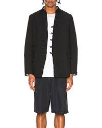 Comme des Garçons - Double Cloth Twill Jacket - Lyst