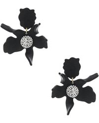 Lele Sadoughi - Crystal Lily Earrings - Lyst