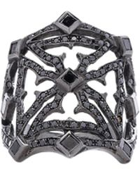 Loree Rodkin | Queens Maltese Open Cross Ring | Lyst