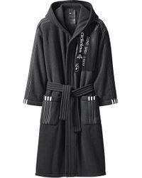 Alexander Wang - Polar Robe In Black & Black - Lyst
