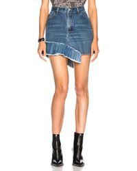 Icons - Ruffle Skirt - Lyst