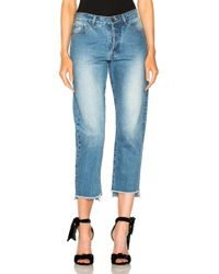 Johanna Ortiz - Moravia Jeans In Washed Blue - Lyst