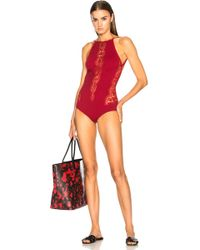 I.D Sarrieri - Elite Open Back Swimsuit - Lyst
