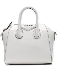 Givenchy - White Antigona Mini Leather Bag - Lyst