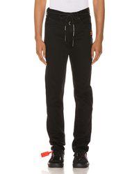 Off-White c/o Virgil Abloh - Diagonal Stripe Slim Jeans - Lyst