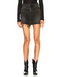 Alexander Wang - Bite Skirt - Lyst