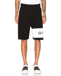 Givenchy - Logo Sweatshorts - Lyst