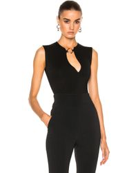 Esteban Cortazar - Split Ring Bodysuit - Lyst