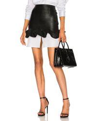 Zeynep Arcay - Ruffles Mini Skirt In Black - Lyst