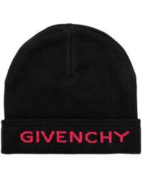 Givenchy - Logo Beanie - Lyst