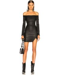 RTA - Electra Leather Dress - Lyst