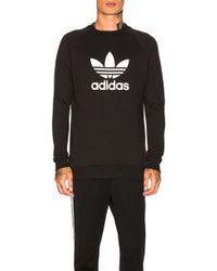 adidas Originals - Trefoil Warm Up Crew Sweatshirt - Lyst