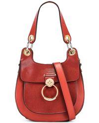 Chloé - Small Tess Leather Hobo Bag - Lyst