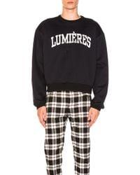 OAMC - Lumieres Sweatshirt - Lyst