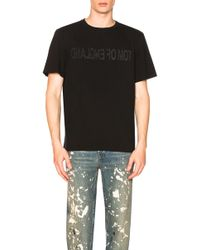 Helmut Lang   Re-edition Tom Of England T-shirt   Lyst