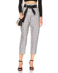Marissa Webb - Anders Pant With Leather Belt - Lyst