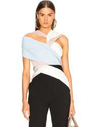 Haider Ackermann - Drape Knit Bodysuit - Lyst